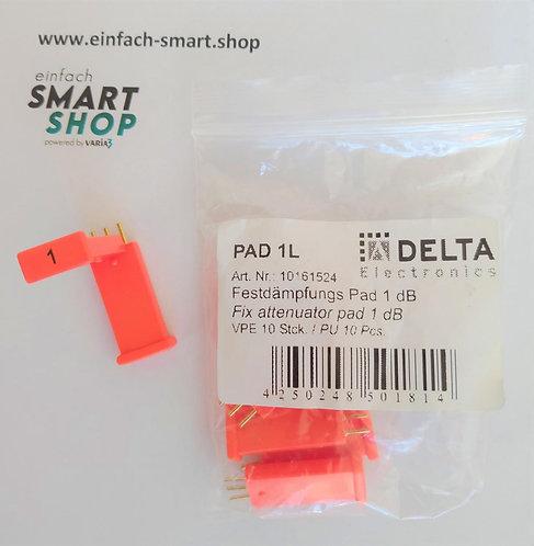 Festdämpfungspad 1 db DELTA Electronics PAD 1L