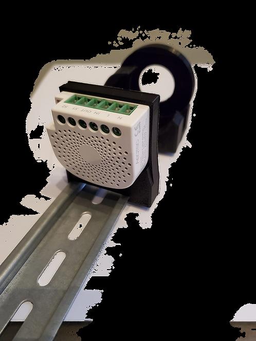 Hutschienenadapter - Halterung für aoetec Nano Switch Z-Wave