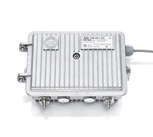WISI VX16C0650 Hausanschlussverstärker, 40 dB, ortsgespeist VX 16 C 0650 NEU OVP