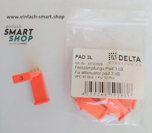 Festdämpfungspad 3 db DELTA Electronics PAD 3L