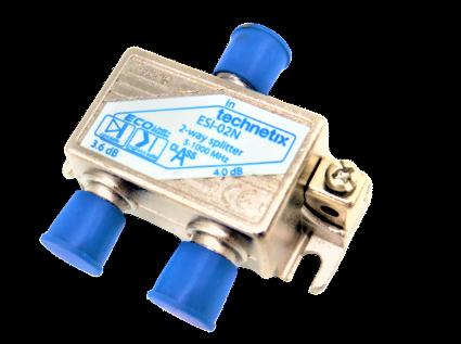 Technetix ESI-02N 2way Splitter, 2-Fach Verteiler