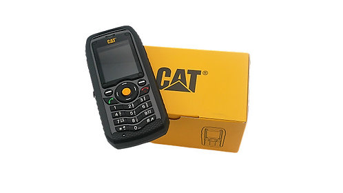 Caterpillar CAT B25 Smartphone IP67 Dual SIM schwarz - GUT
