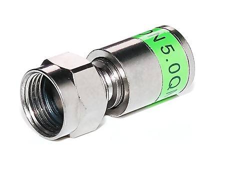 10x Cabelcon F-Kompression-Stecker 5.0 mm  CX3 5.0
