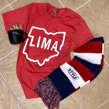 Lima, Ohio Scarf $13