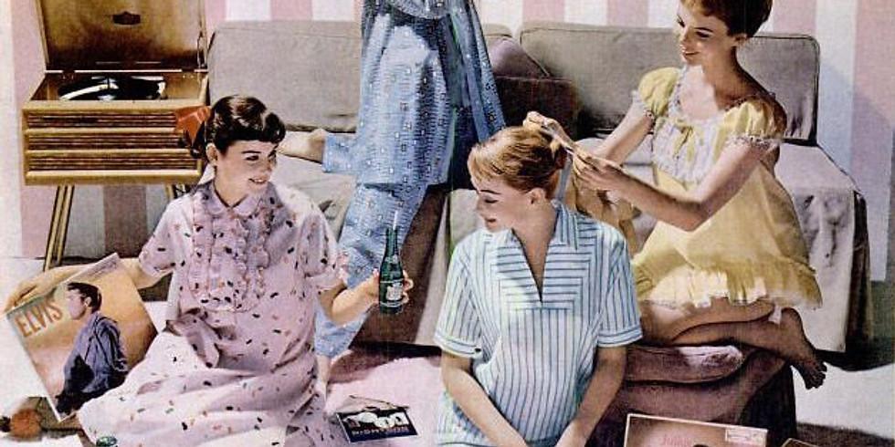 Mrs. Rees' Winter Solstice Vintage Pajama Party 2019