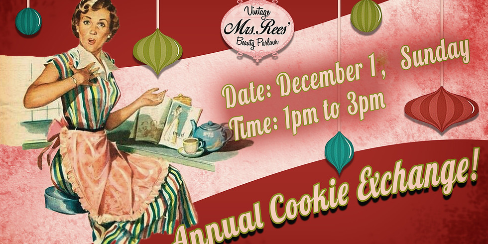 Mrs. Rees Annual Cookie Exchange 2019