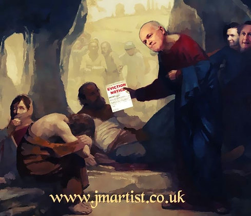Jesus Duncan Smith cures the Lepers