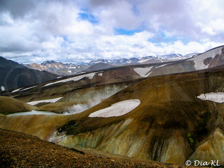 Iceland (2006) ~ 06. Laugavegur trek Day1
