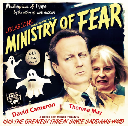 David Cameron fear mongerer