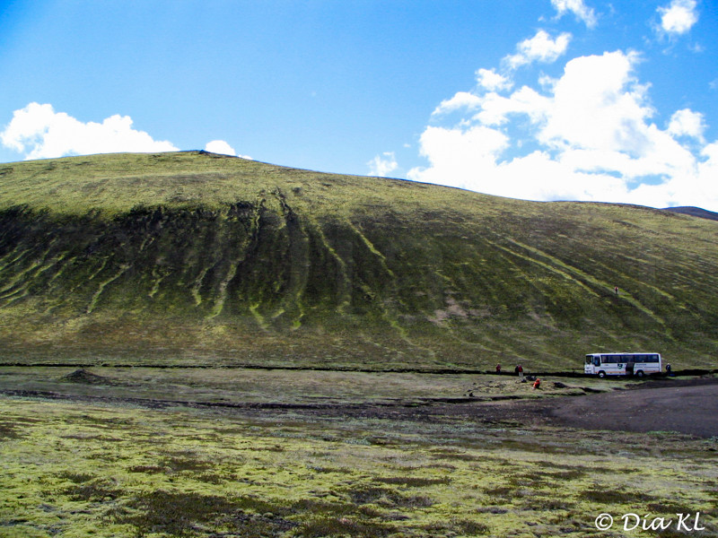 Iceland, interior, on the way to Landmannalaugar