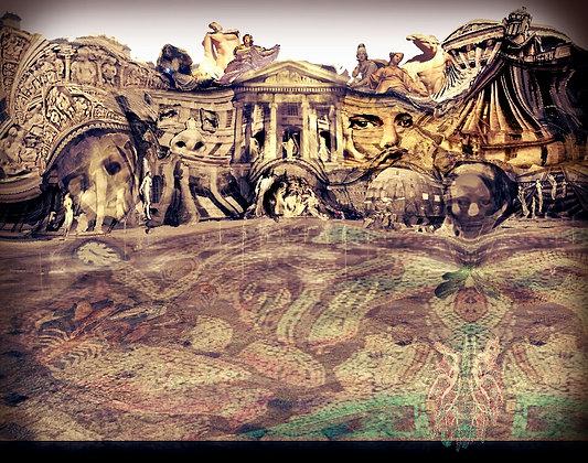 Classicopia a homage to Dali