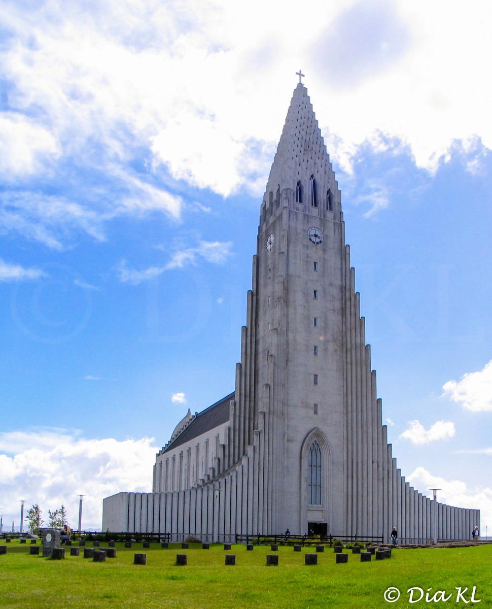 Hallgrimskirkja church, Reykjavik, Iceland 2006