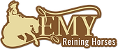 Logo Emy reining horses