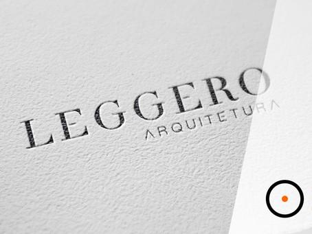 Bastidores da criação: Identidade Visual Leggero Arquitetura