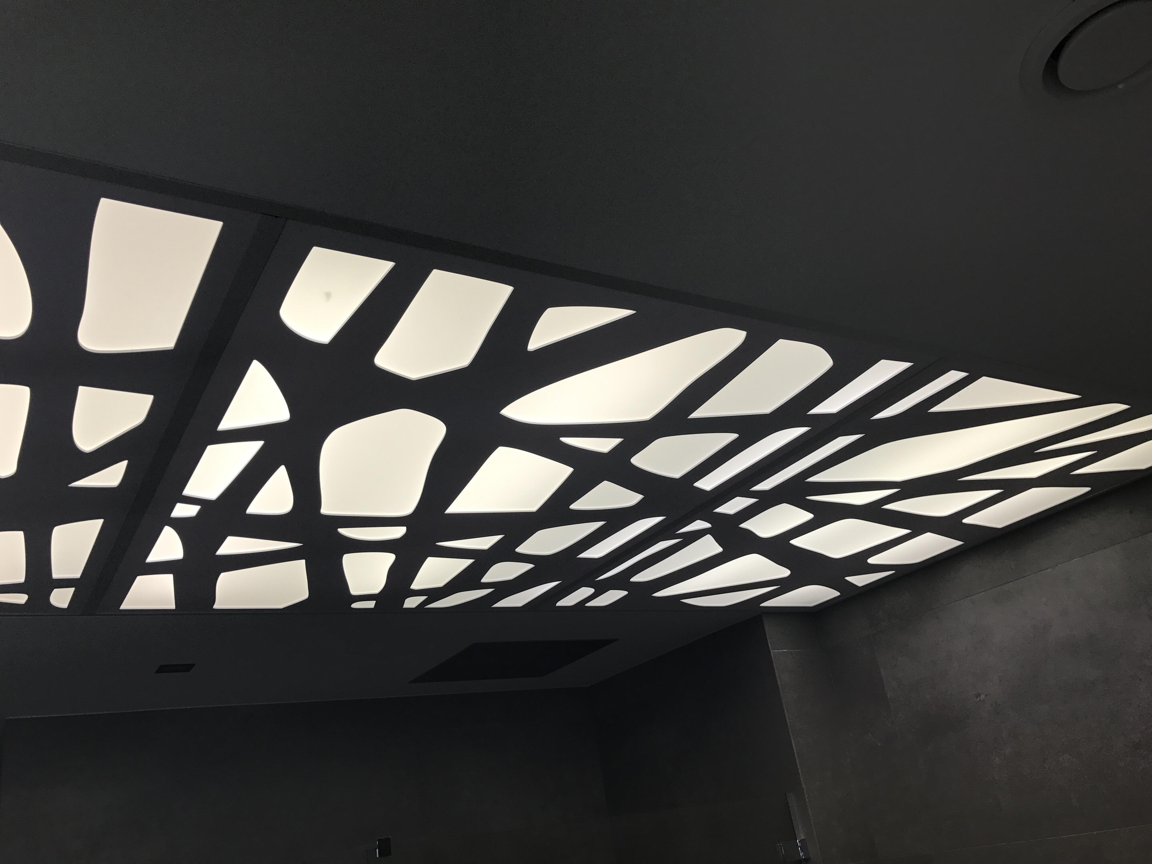 Panele sufitowe z tworzyw