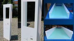 Panele automatów z plexi