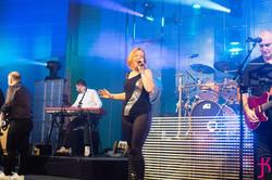 Helene Bouger chanteuse de l'orchestre de variété suspens orchestra
