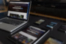 Electronic Devices on Table