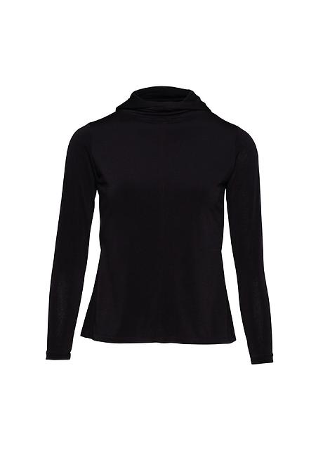 Black Jersey Long Sleeve