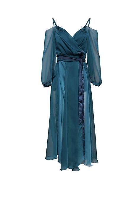 Chiffon Dress Set
