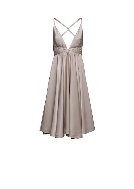 Round Midi Dress