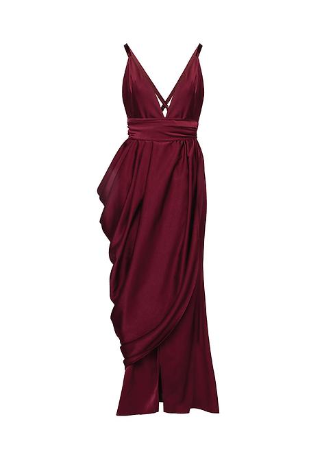 Oxblood Dress