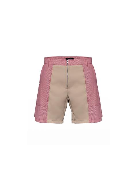 Red&Camel Desert Shorts