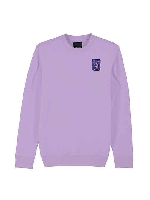 Lilac Underwater Sweater