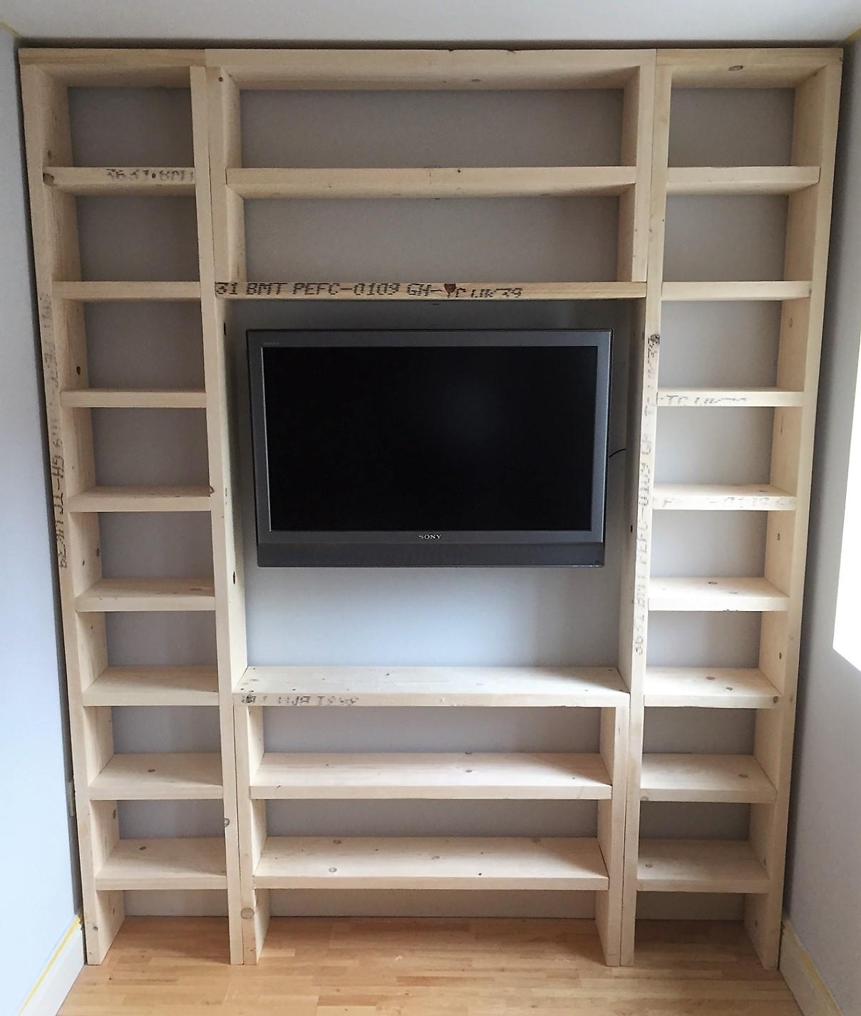 Bespoke Bookcase (1)