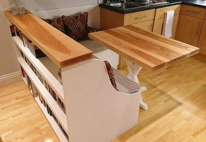 Corner Seating, Storage & Table (4)