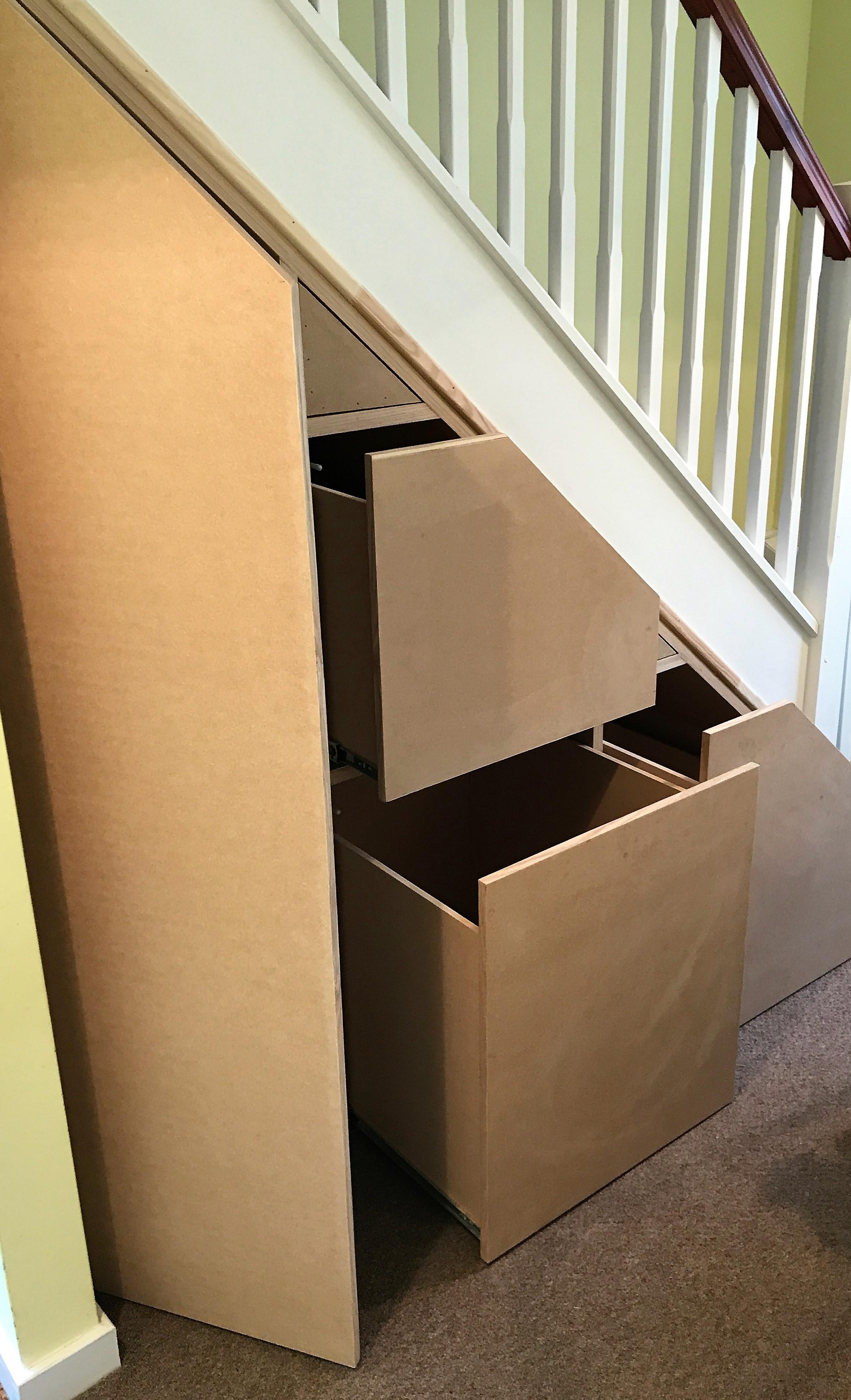 Under Stair Storage Solution (2)