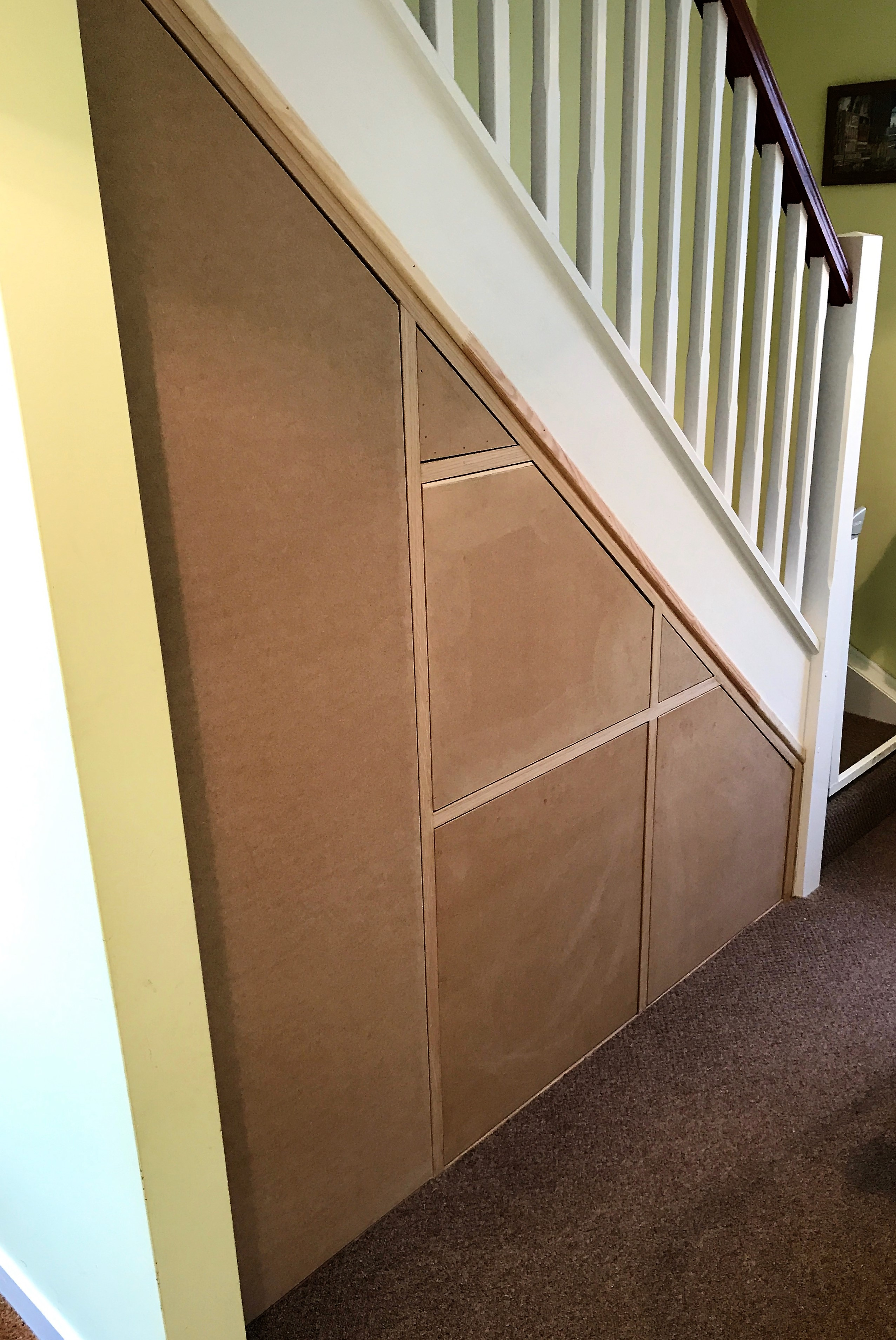 Under Stair Storage Solution (1)