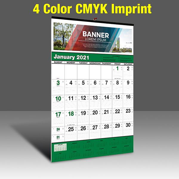 WA102 Black+348Green - 4 Color Imprint