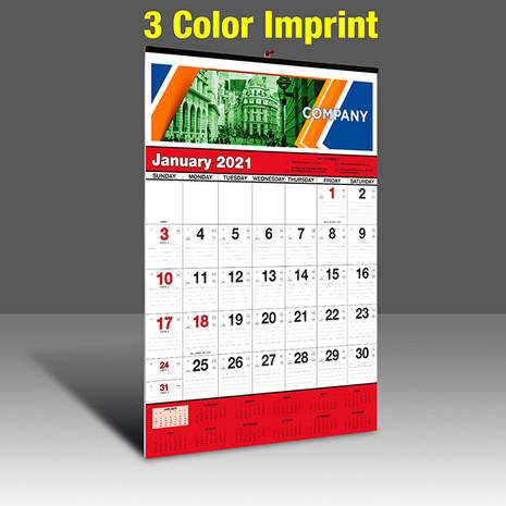 WA102 Black+185 Red - 3 Color Imprint