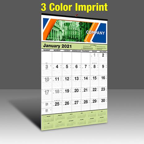 WA101-C - 3 Color Imprint