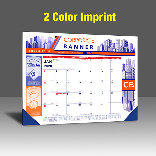 CA208 Reflex Blue & PMS 185 Red Base - 2 Color Imprint