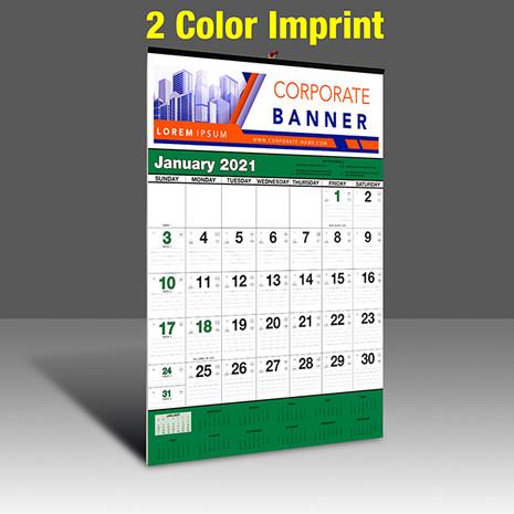 WA102 Black+348Green - 2 Color Imprint