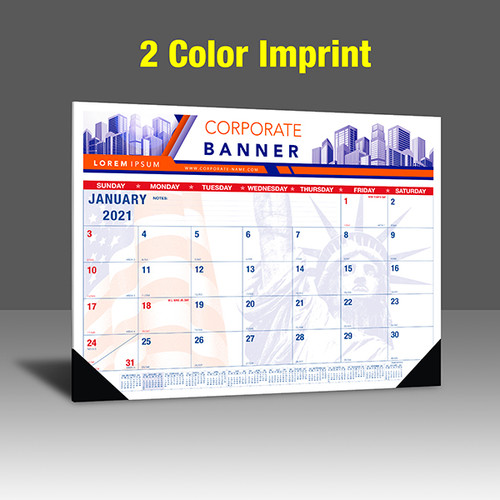 CAPAT220 Desk Calendar - 2 Color Imprint