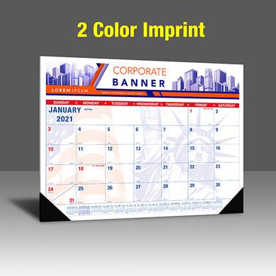 CAPAT220 Desk Calendar - 2 Color Imprint