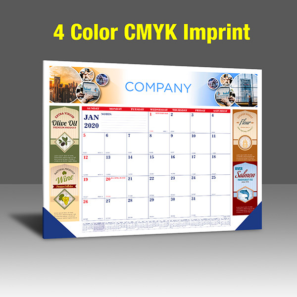 CA208 Reflex Blue & PMS 185 Red Base - 4 Color Imprint