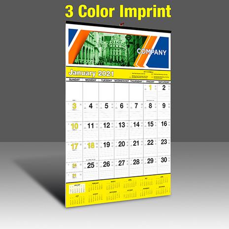 WA102 Black+Yellow Base - 3 Color Imprint