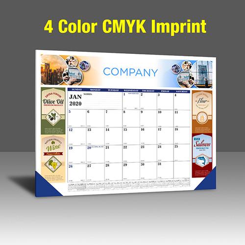 CA208 Black+Reflex Blue - CMYK Imprint