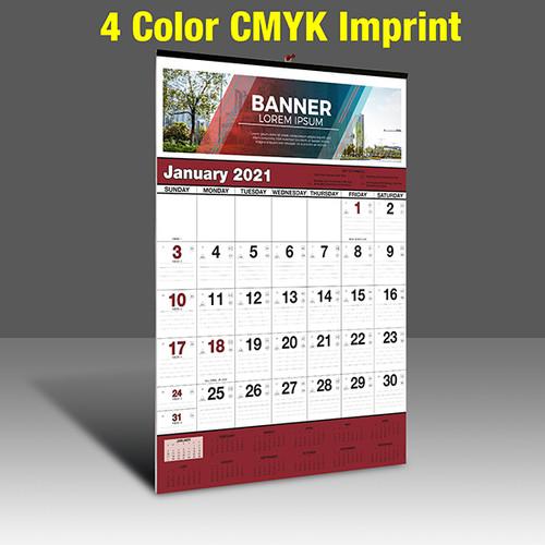 WA102 Black+Burgundy Base - CMYK Imprint