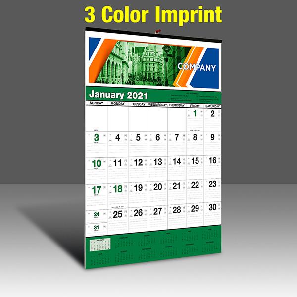 WA102 Black+348Green - 3 Color Imprint