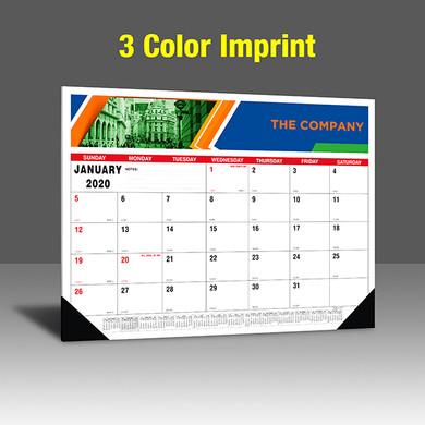 CA201 Black+PMS 185 Red Base - 3 Color Imprint