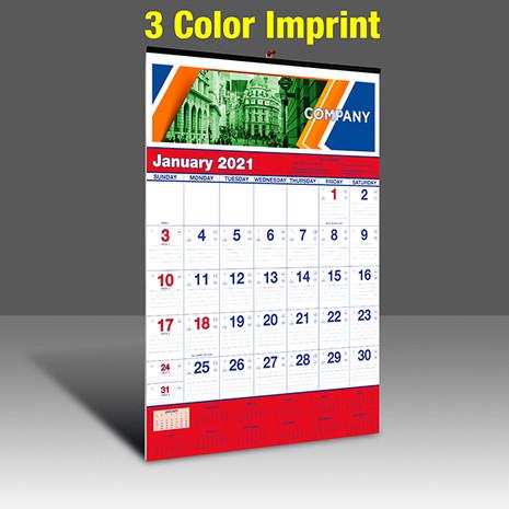 WA102 Reflex Blue & PMS 185 Red - 3 Color Imprint