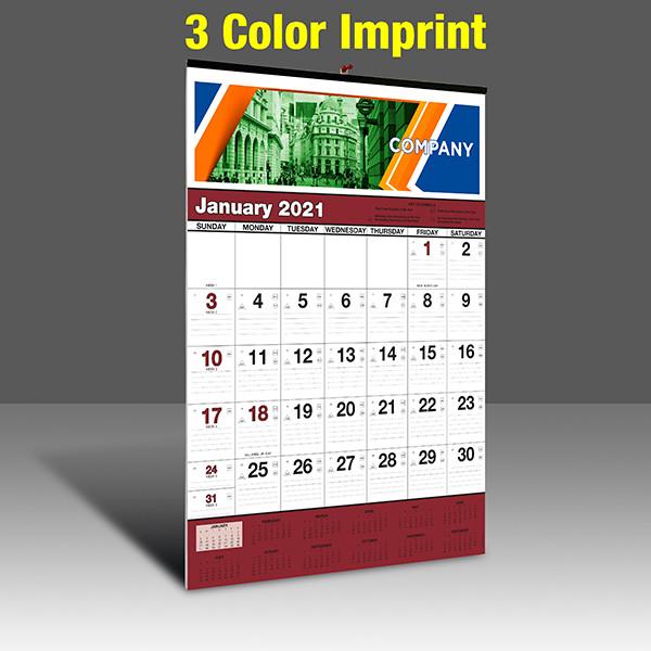 WA102 Black+Burgundy Base - 3 Color Imprint