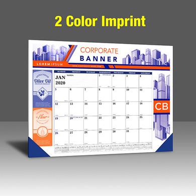 CA208 Black+Reflex Blue - 2 Color Imprint