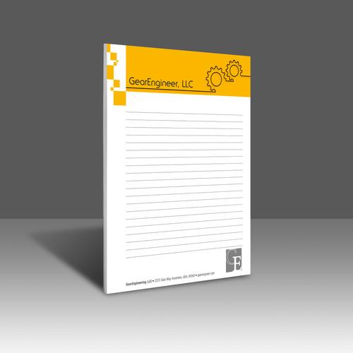 "8.5"" x 10.5"" Notepad"