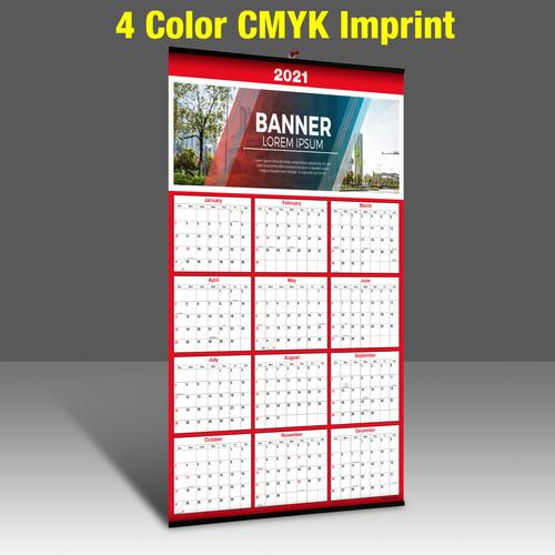 YP341 with 2 Color Base - 4 Color CMYK Imprint
